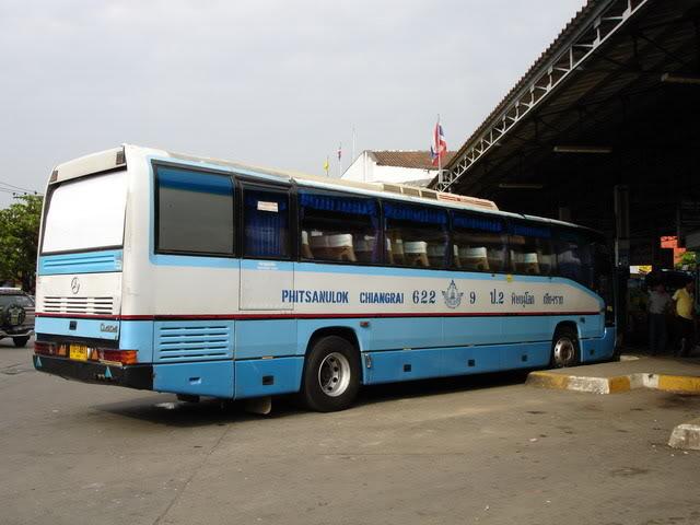 Second class bus